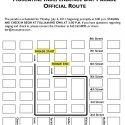 Muscatine 2011 fourth of July offical Parade Route info
